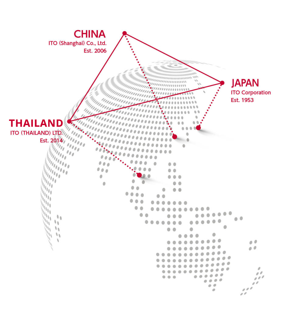 ITO International Operations in Japan, Thailand, China