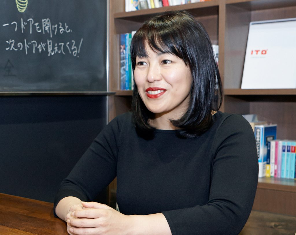 ITO Director Ayumi Furui